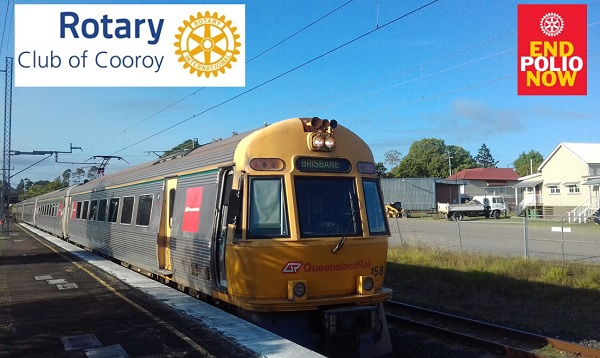 Great Rotary Polio Train Ride